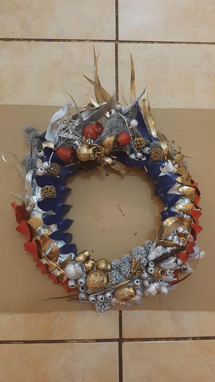 Made with Australian native's Christmas wreaths, Xmas