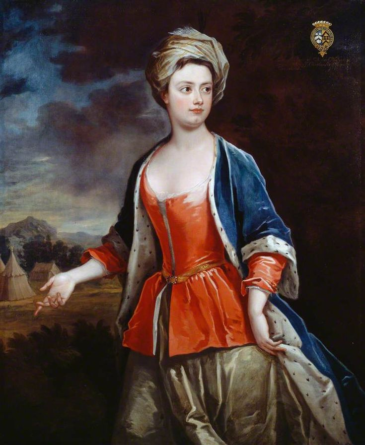 """""""Dorothy Walpole, Viscountess Townshend"""", Charles Jervas, ca. 1718; Dulwich Picture Gallery DPG567"""
