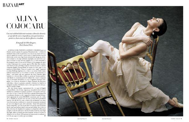 Special Fashion  Alina Cojocaru   Harper's Bazaar Romania #fashion #parlor Fashion