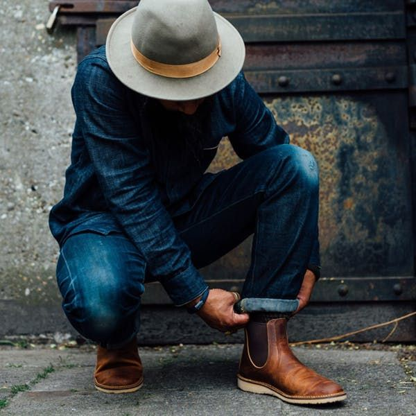 Red Wing Heritage Chelsea Boot + Care Kit