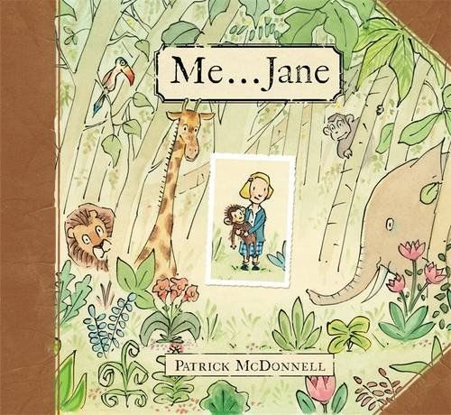 Me . . . Jane by Patrick McDonnell #Books #Kids #Biographies #Jane_Goodall