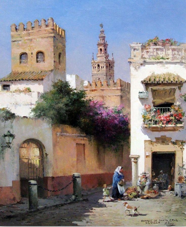cuadros modernos pinturas lbum de paisajes pintados al leo pueblos