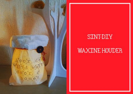 Sint-DIY waxinehouder