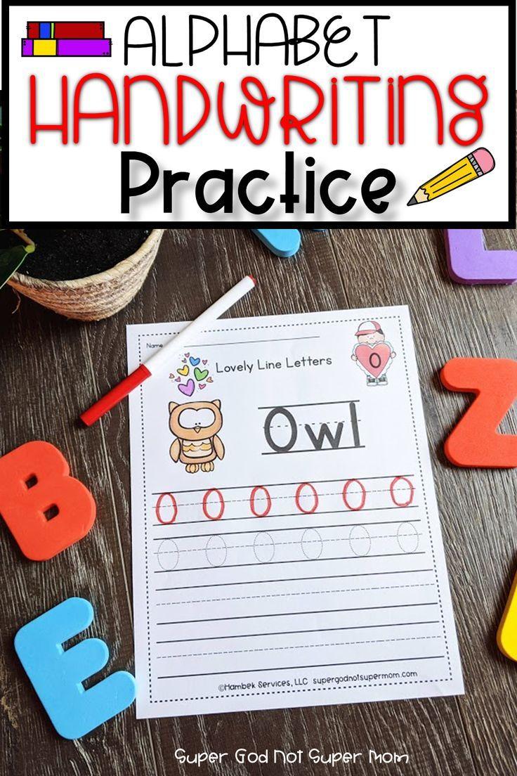 Alphabet Handwriting Worksheets Super God Not Super Mom Alphabet Activities Preschool Alphabet Preschool Alphabet Crafts Preschool [ 1104 x 736 Pixel ]