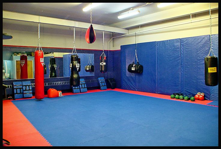 jared wants to turn our basement into a little boxing/workout space.. ideas ideas #MMA Gym http://www.upcunlimited.com/
