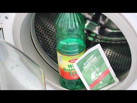 Wundermittel für die Waschmaschine - Emperor soda & vinegar miracle for the washing machine - YouTube