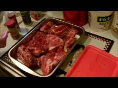 Here's how I make the old southern dish of pork neck bones with gravy. Serve this over white rice and a side of your favorite veg and you're good to go. It w...
