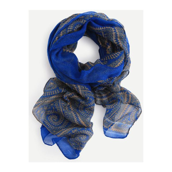 Women's Scarves & Ladies Wrap Shawls-Us SheIn(Sheinside) ❤ liked on Polyvore featuring accessories, scarves, wrap shawl, shawl scarves and wrap scarves
