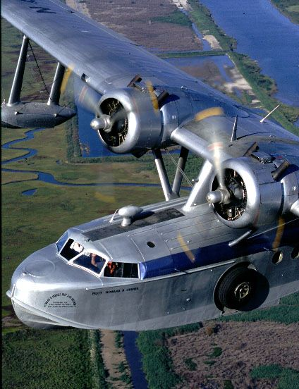 Sikorsky S-43 Flying Boat owned by Howard Hughes