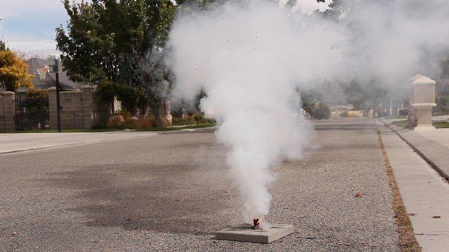 How to Make Homemade Smoke Flares with Fuses « Mad Science