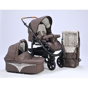 Varius Pro Hazelmaus + FREE Raincover & Mosquito net #stroller #pram #naturkindstroller #myfamilyshop #pregnant #pregnancy Looking for natural baby products? Why not find out more about the Naturkind Pram and let your Baby grow up in a healthy non-toxic environment.