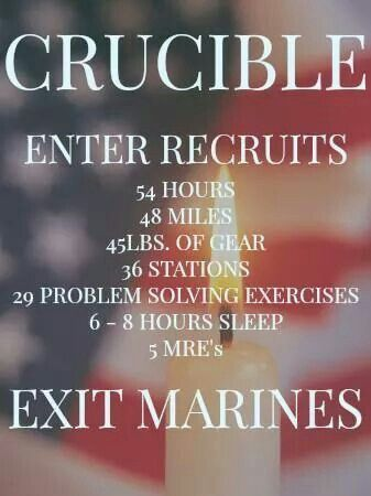 The Crucible Quotes Classy 10 Best Usmarine Crucible Images On Pinterest  Marine Corps