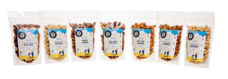 Cecilia's Farm dried nuts range www.ceciliasfarm.co.za