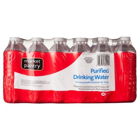 Market Pantry Purified Water 24 Count