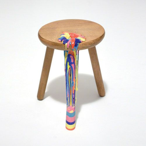 'buitenbeentje' stools and chairs by anna ter haar