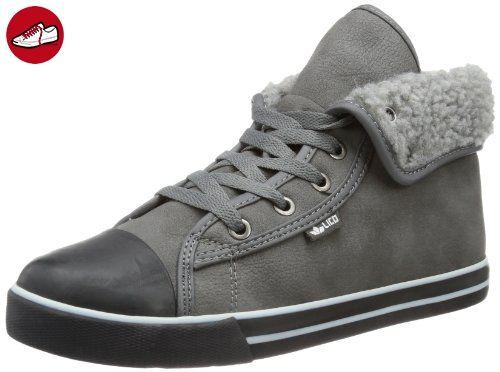 Lico Score 180224, Jungen Sneaker, Grau (anthrazit/grau), EU 34 - Lico schuhe (*Partner-Link)