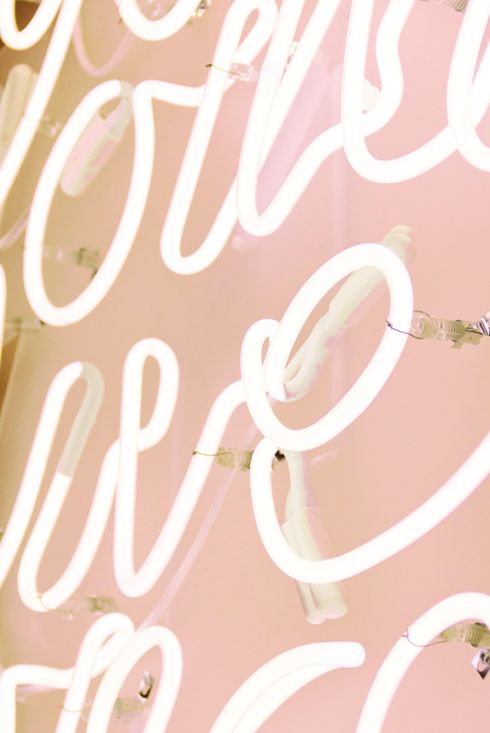 : Pink Backgrounds, Blushes Pink, Neon Signs, Neon Lights, Pretty Things, Pale Pink, Bright Lights, Vintage Inspiration, Neon Pink