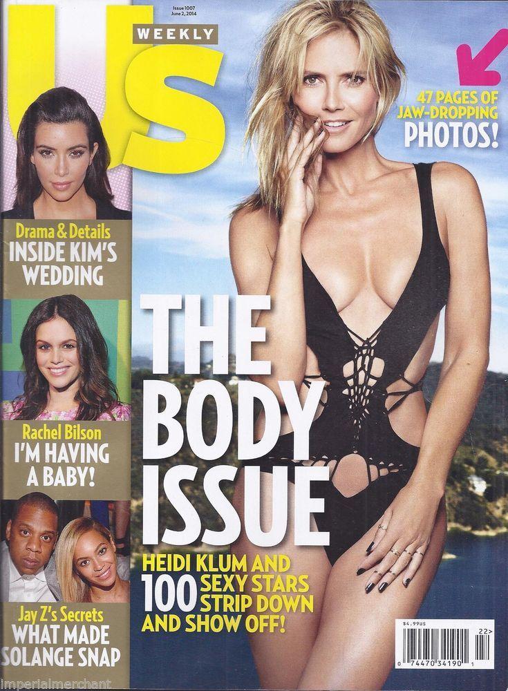 Heidi Klum in US Weekly magazine