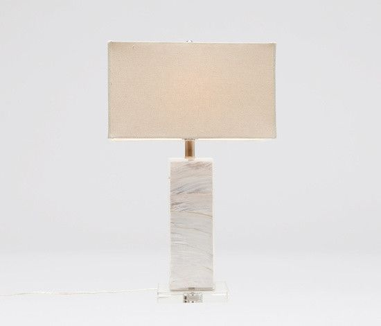 Zilia Table Lamp Mother Of Pearl Shell16 Lx 9w X 26 H Living Room