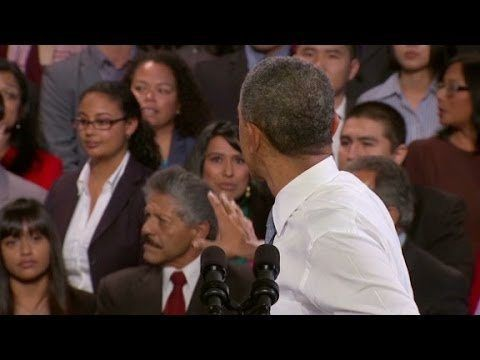 (adsbygoogle = window.adsbygoogle || []).push();           (adsbygoogle = window.adsbygoogle || []).push();  President Barack Obama addresses hecklers during his immigration reform speech in San Francisco. source #usa #news #worldnews #headlinenews watch and share USA Today News...