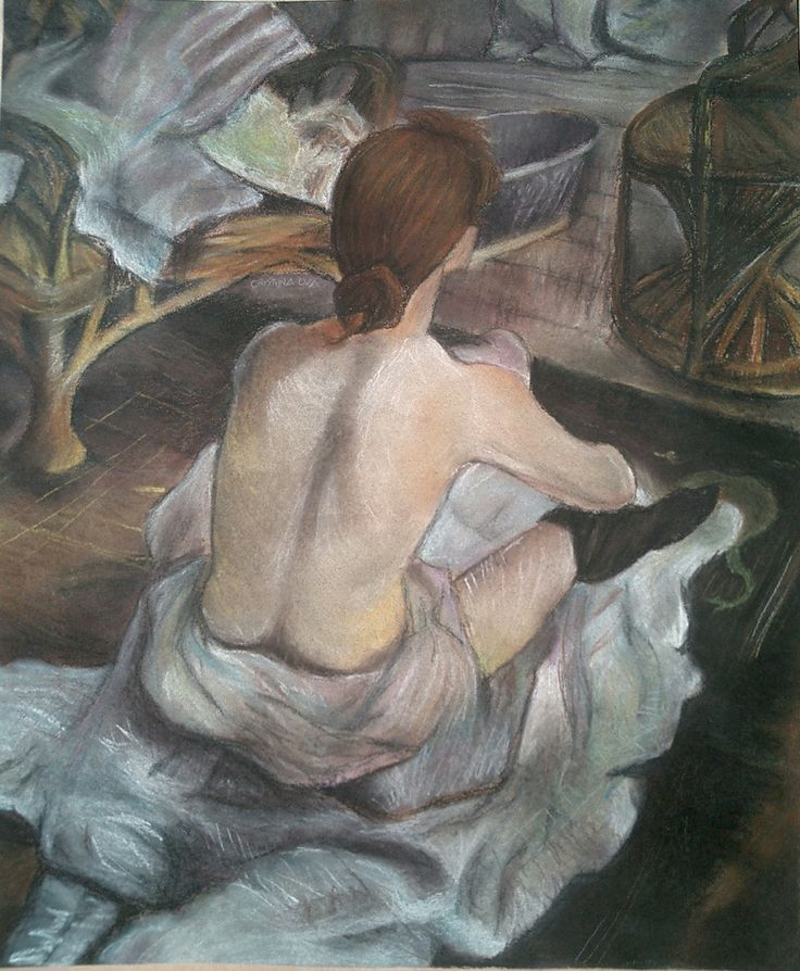 Henri de Toulouse Lautrec, La toilette, 1889