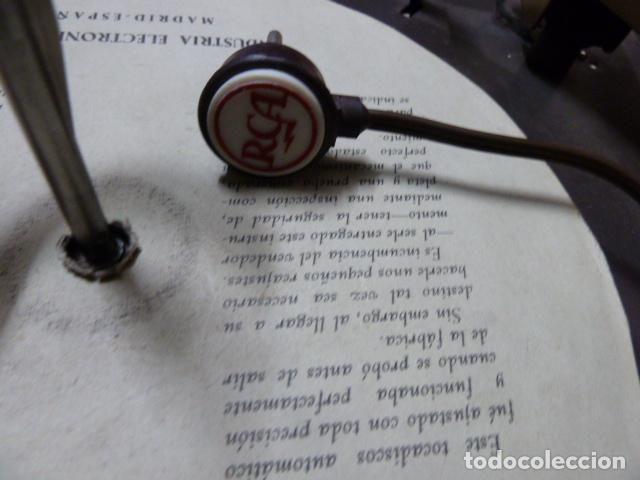 Radios antiguas: PLATO DE TOCADISCOS RCA AÑOS 50 - Foto 2 - 77507725