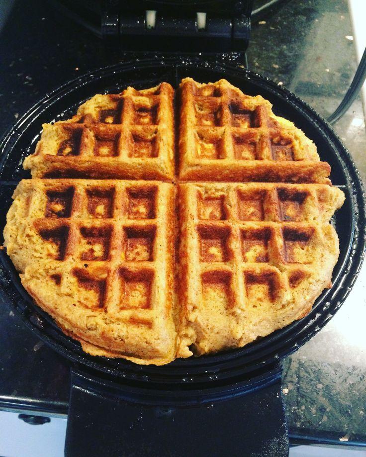 The Best Autoimmune Paleo Waffles...plantains and tigernut flour.