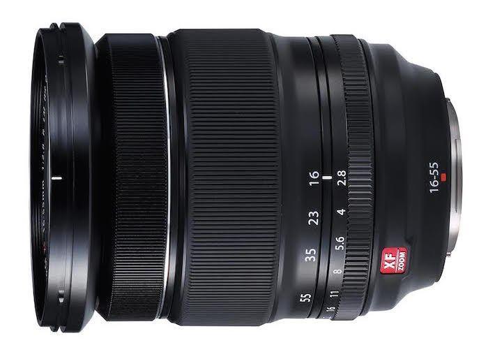 Fuji Announces New XF 16-55mm f/2.8 R LM WR Lens