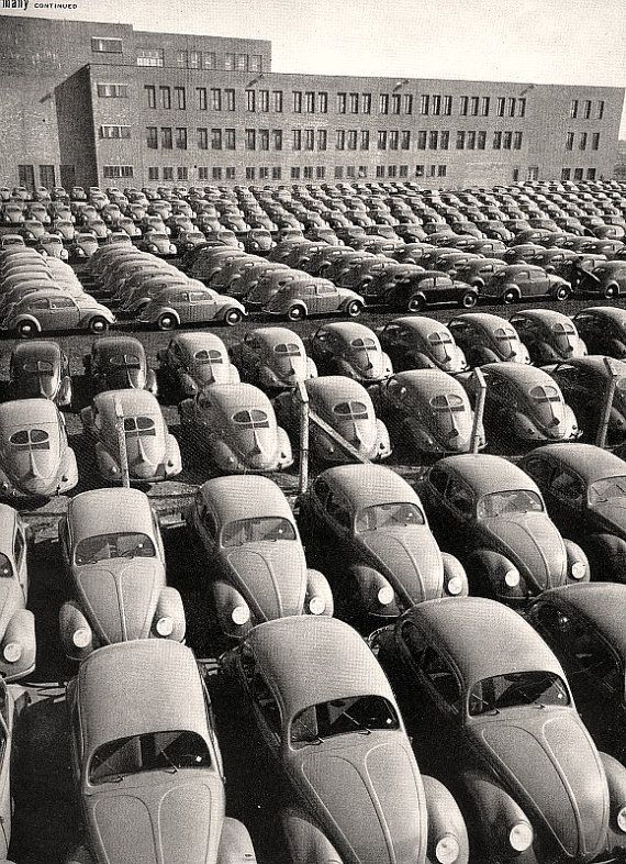 A Snapshot of the #VW #Beetle Assembly Line #ValleyMotorsVW