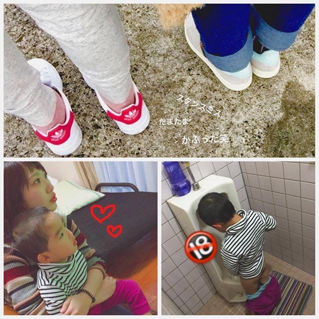 【yuiyuiyuif】さんのInstagramをピンしています。 《本日いとこDAY👭 #stansmith #かぶった #2人で #海 #語り #帰ったら #3歳児 #3人で #暴れた #ばあちゃん #激おこ》