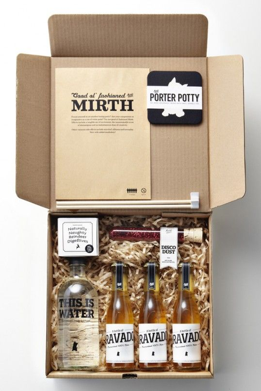 Manic's Merrymaking Must-Haves. What a wonderful idea! The packaging is great too! #packaging