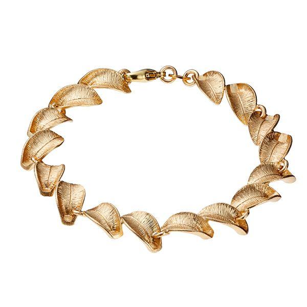 Kalevala Koru / Kalevala Jewelry / SNOW FLOWER BRACELET  Designer: Marja Suna Material: bronze or silver
