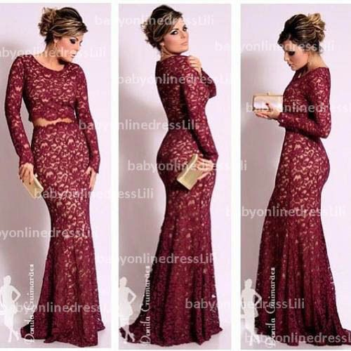 long sleeve lace homecoming dresses - Google Search