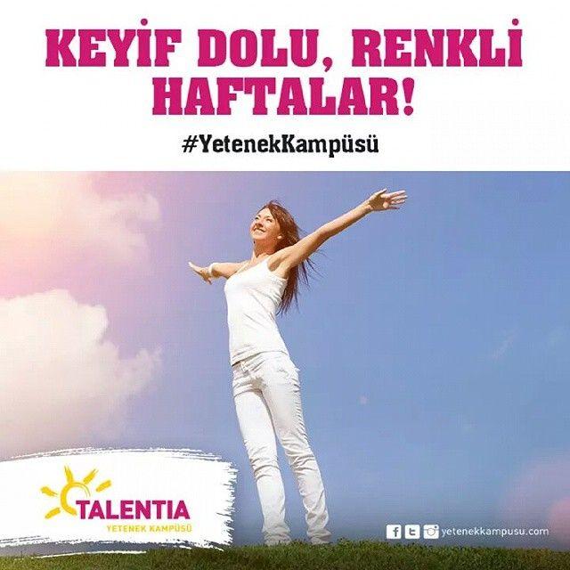 #TalentiaYetenekKampüsü #Dans #Spor #Müzik #Sanat #Talentia'da! #yetenek #yeteneklerfora #yetenekkampusu #eğitim #kariyer #gelecek #talentia #eğlence #keyifli #renkli #mutluhaftalar