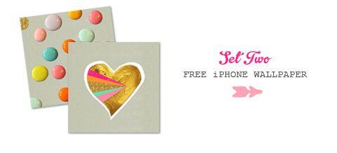 FREE iPhone Wallpaper- Set Three » Eat Drink Chic
