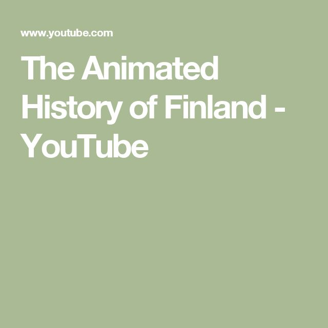 The Animated History of Finland - YouTube