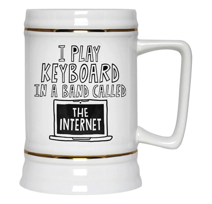 I play keyboard in a band called the internet. The perfect beer stein is you play keyboard in a band called the internet. Order here - https://diversethreads.com/products/i-play-keyboard-in-a-band-called-the-internet-beer-stein