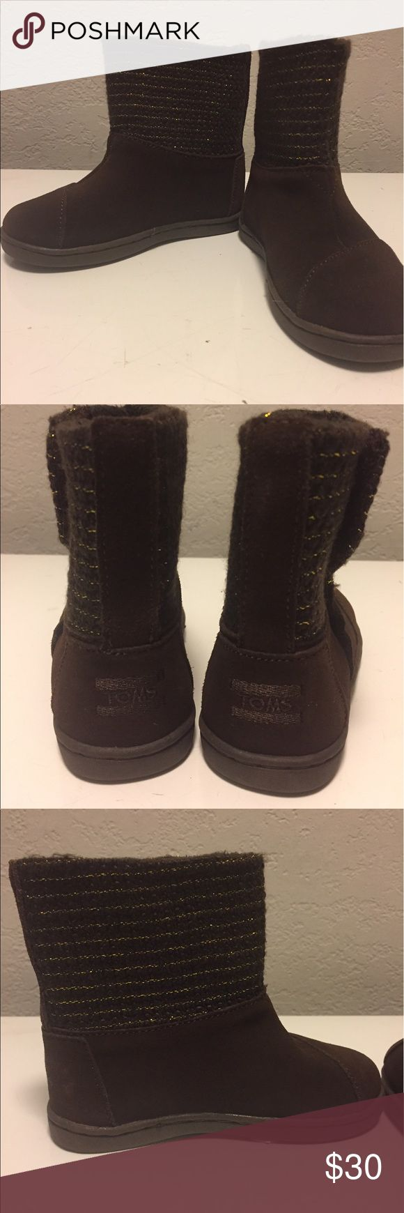 Girls Brown Toms Boots Brand new TOMS Shoes Boots