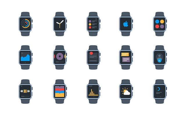 free-apple-watch-icon-pack