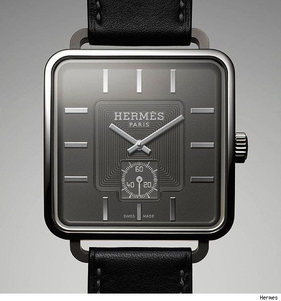 """Hermes Carré H (""""Square H"""")Hermes Watches, Marc Berthier, Hermès Carré, Hermès Watches, Men Fashion, Squares Face, Hermé Watches, Hermes Carr, Men Watches"""