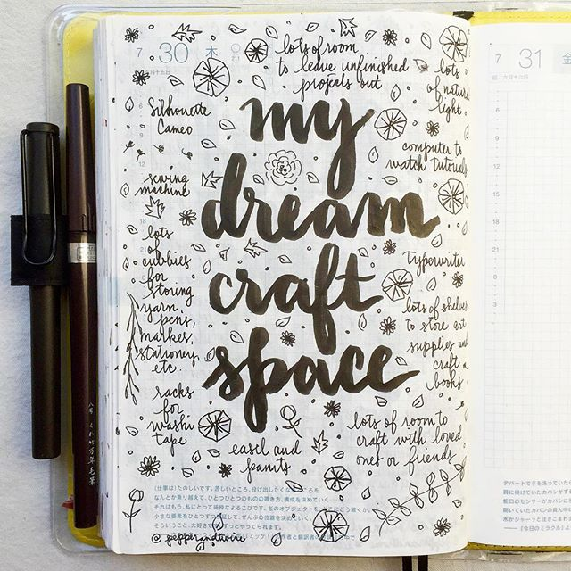 Describe your dream craft space
