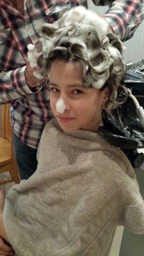 Woopsy #hairwashing #hair