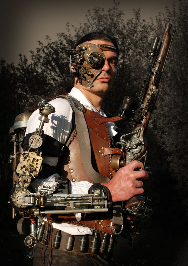 122 best images about cyber steampunk eyepieces on pinterest - Steampunk style vestimentaire ...