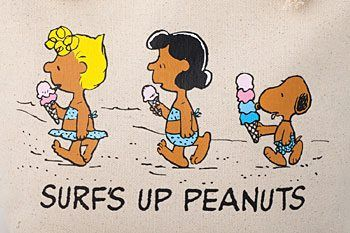 3 of my favorite things together...peanuts, ice cream, and the beach!!!  -  Pinned 5-15-2016.