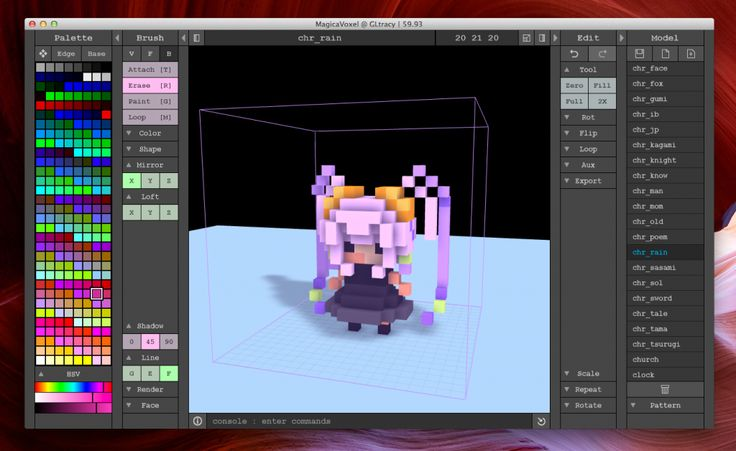Magicavoxel Voxel 3d Model Editor Free Https