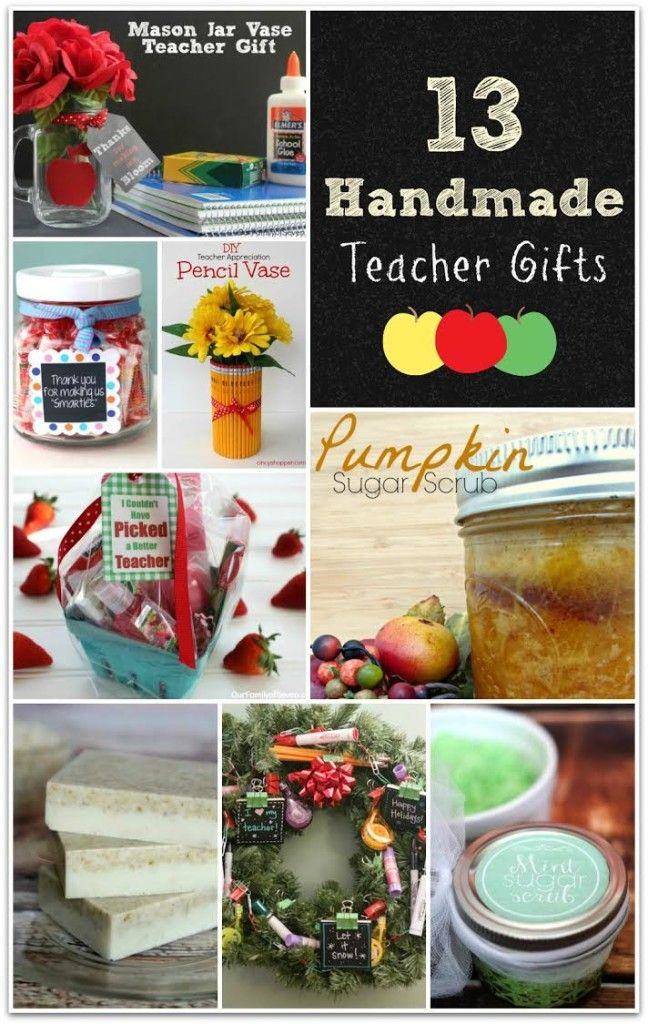 Thinking about end-of-the-year teacher gifts? How about DIY gifts you can do with the kids? Most of these are pampering gift ideas, but two are food and a few are decorative DIY crafts that are actually useful! Why buy when you can DIY? Send your favorite teachers off with a sweet gift to wish them a happy summer and thank them for teaching your kids! Our teachers are priceless, so let them know!