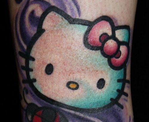 hello kitty tattoos | Hello Kitty Tattoo Kawaii Tattoo Blog Cute Tattoos