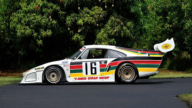 1977 Porsche 934.5/935 IMSA Swap Shop 3rd Overall at The 1981 12 Hours of Sebring presented as lot S175 at Monterey, CA 2014 - image2