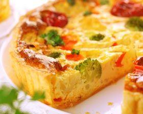 Broccoli and Gouda Tart