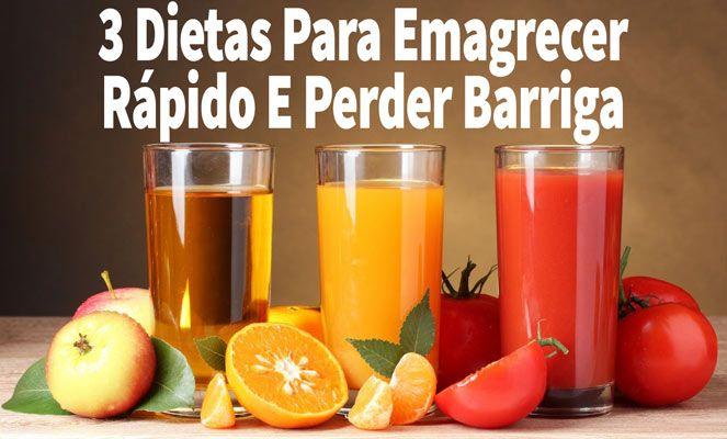 3 Dietas Para Emagrecer Rápido E Perder Barriga  http://emagrecerrapidogarantido.com.br/3-dietas-para-emagrecer-rapido-e-perder-barriga/